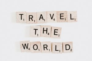 travelling the world