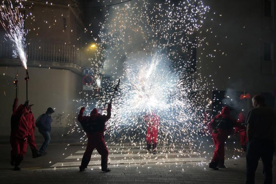 street celebrations in Spain