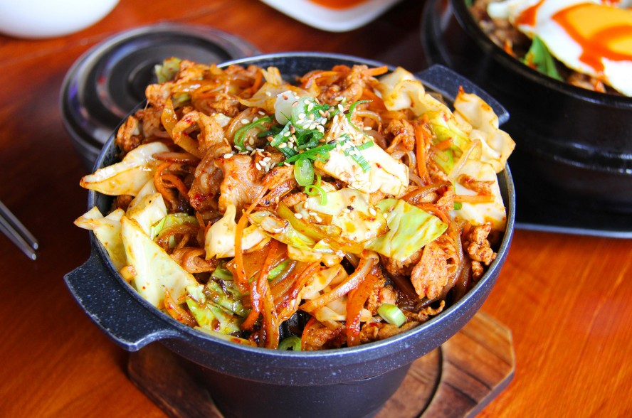South Korean food