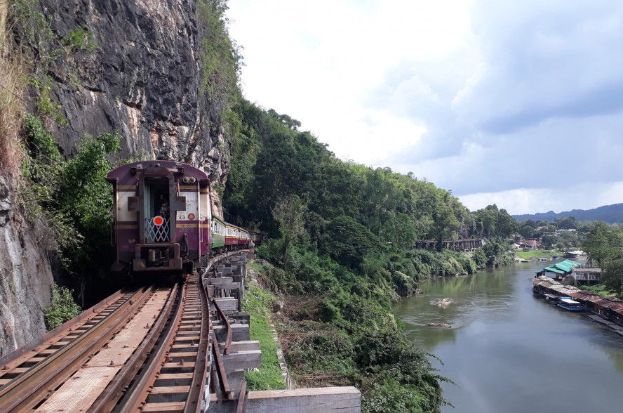 death railway in Thailand