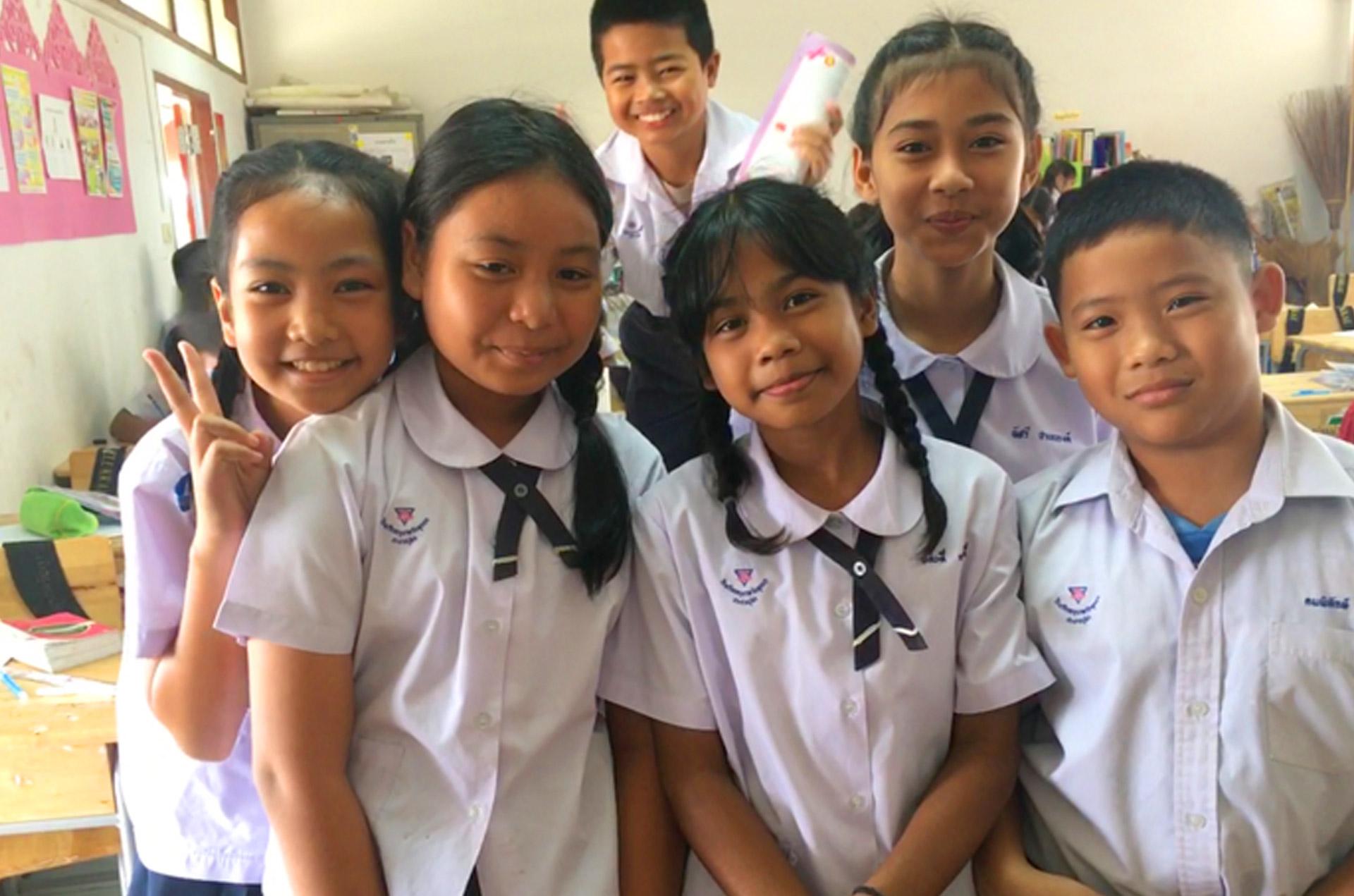 happy TEFL students