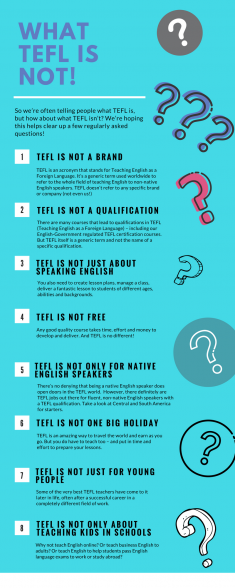 What tefl is not!