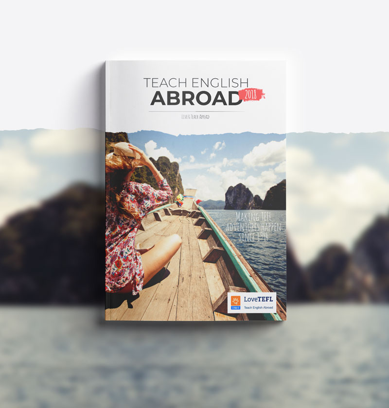 TEFL travel brochure