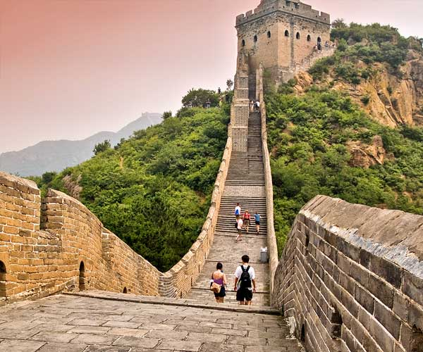 Great Wall of China scene