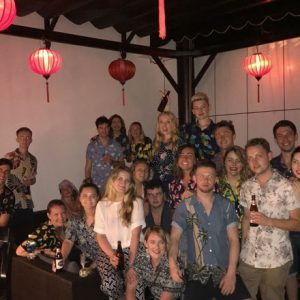 group of TEFL teachers in Phu Quoc, Vietnam