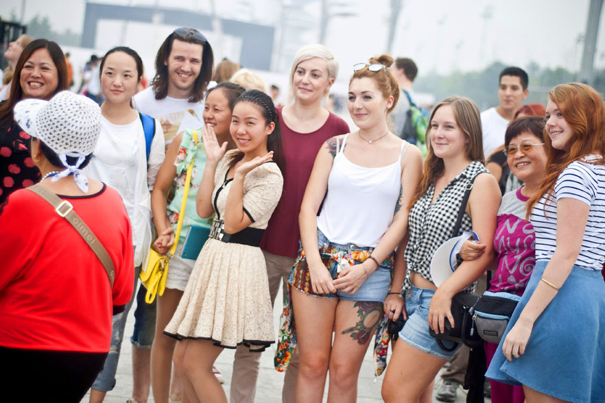 China teachers at orientation