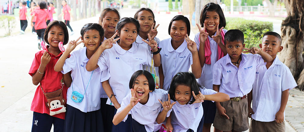 thailand school children