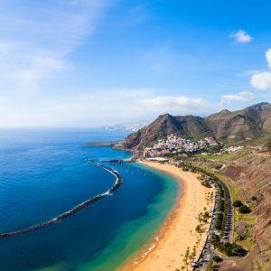Spanish coastline
