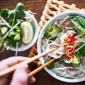 vietnamese bowl of noodles