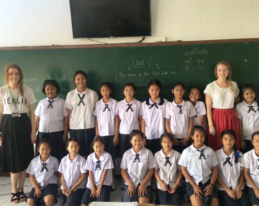 classroom thailand