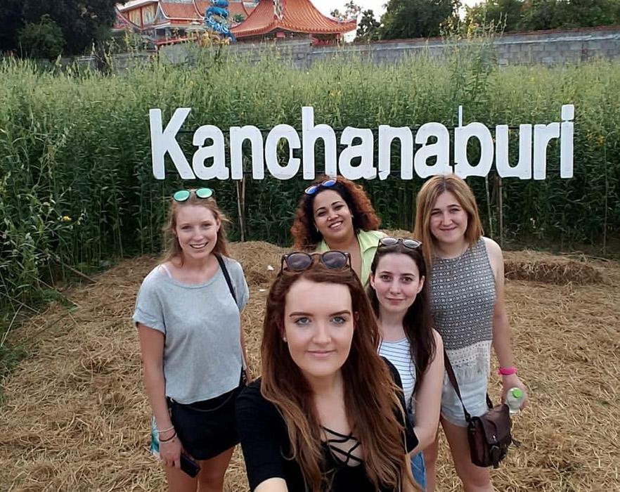 kanchananburi sign