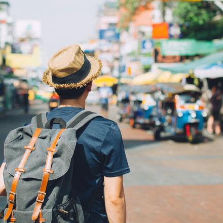 Thailand traveller