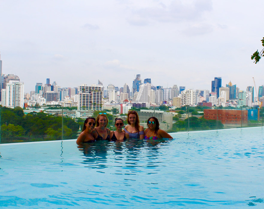 rooftop pool thailand