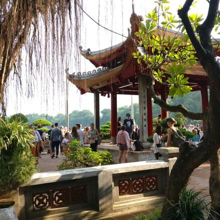 Temple in Hanoi