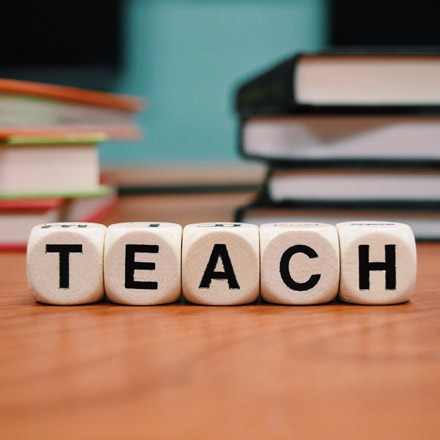 Teach in letters