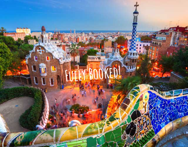 barcelona spain fully booked