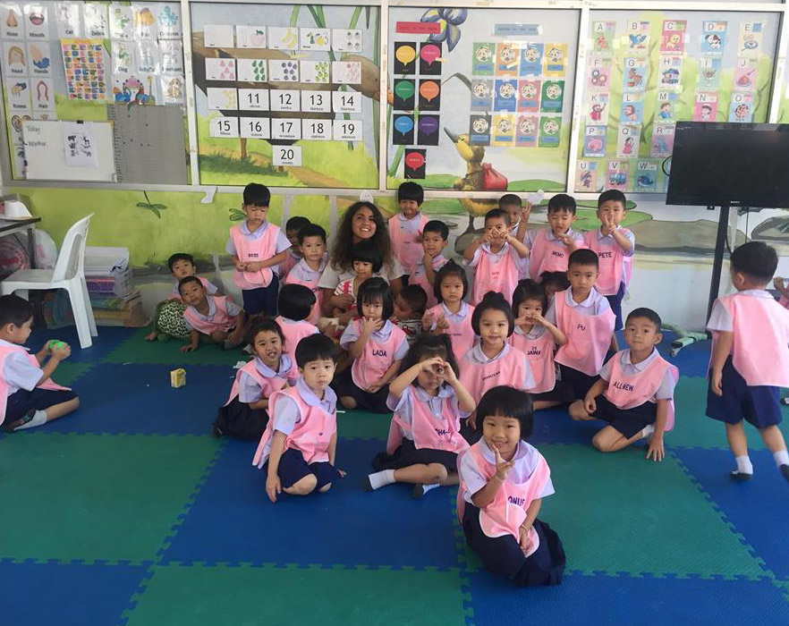 tefl class in thailand