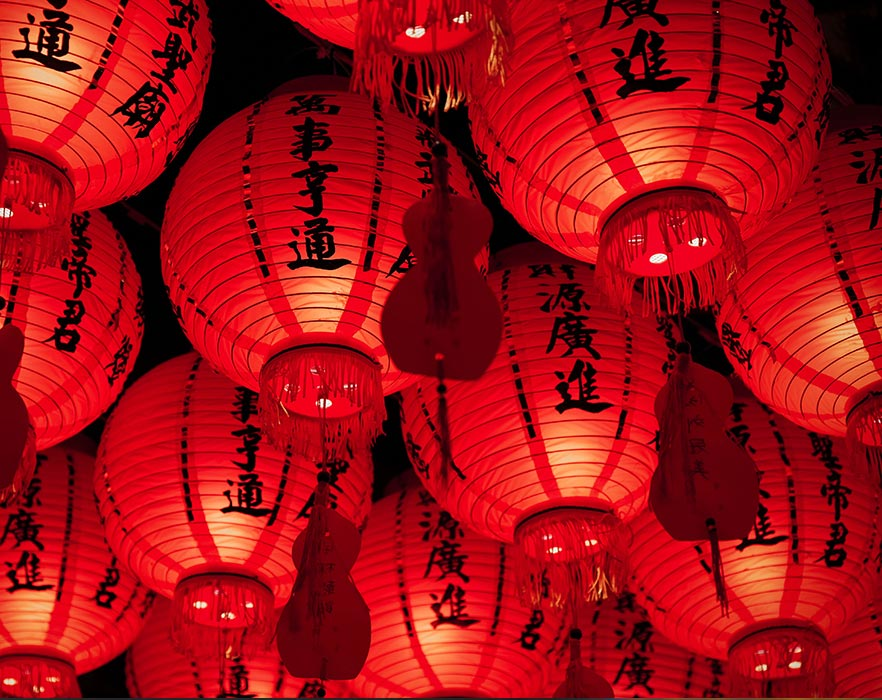 chinese festivals lanterns