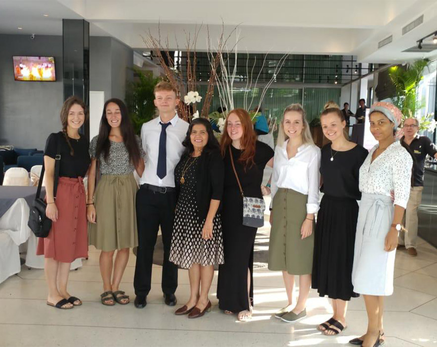 will with other tefl interns
