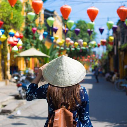Vietnam traveller