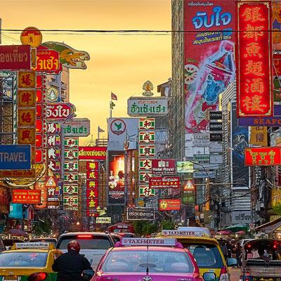 Thailand city centre