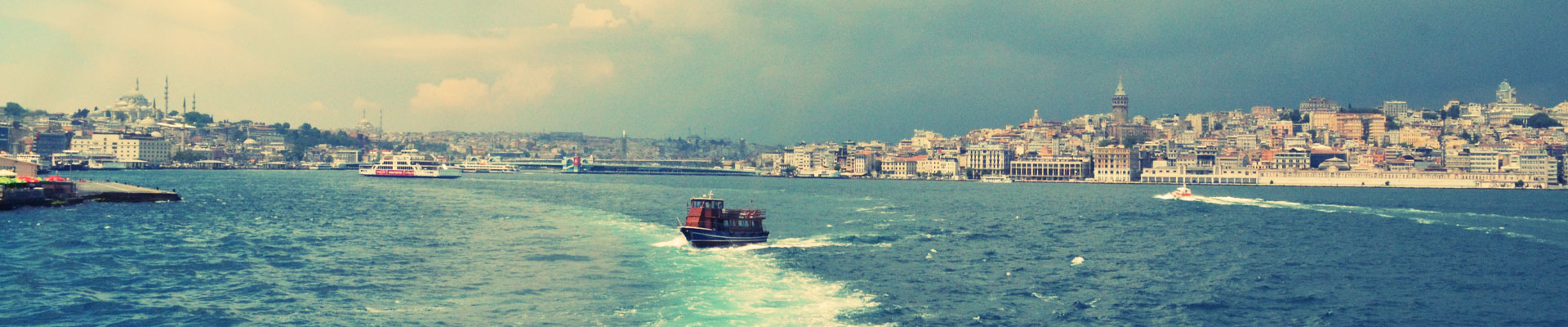 Coastal scene in Turkey