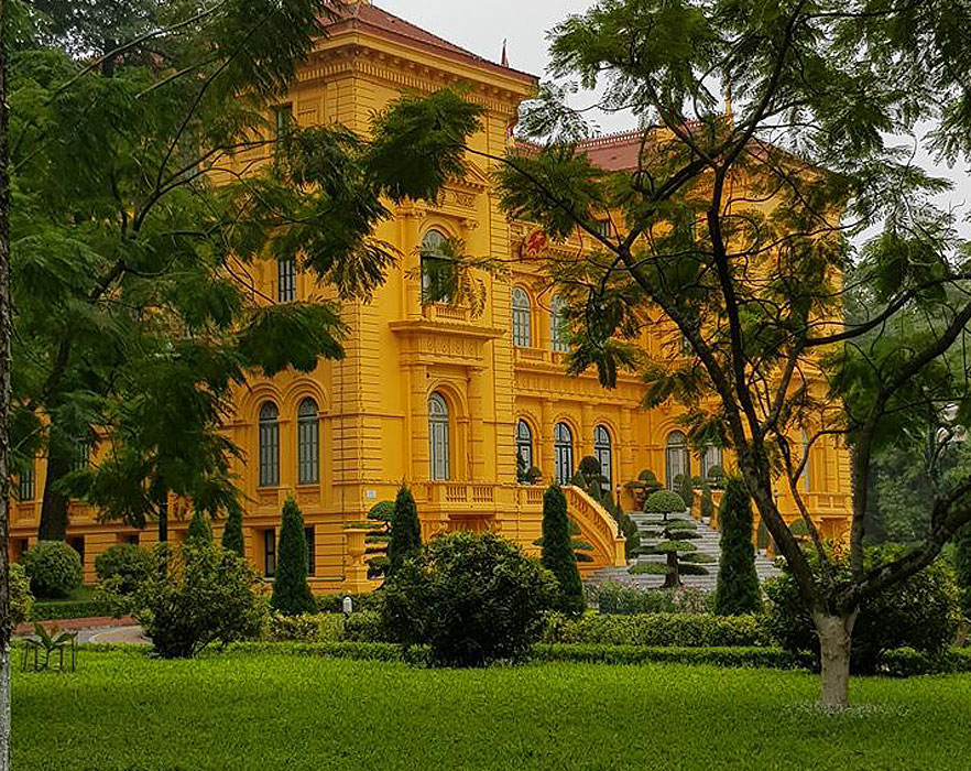 Green area in Hanoi