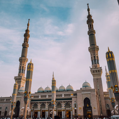 Nabawi Mosque in Saudi Arabia