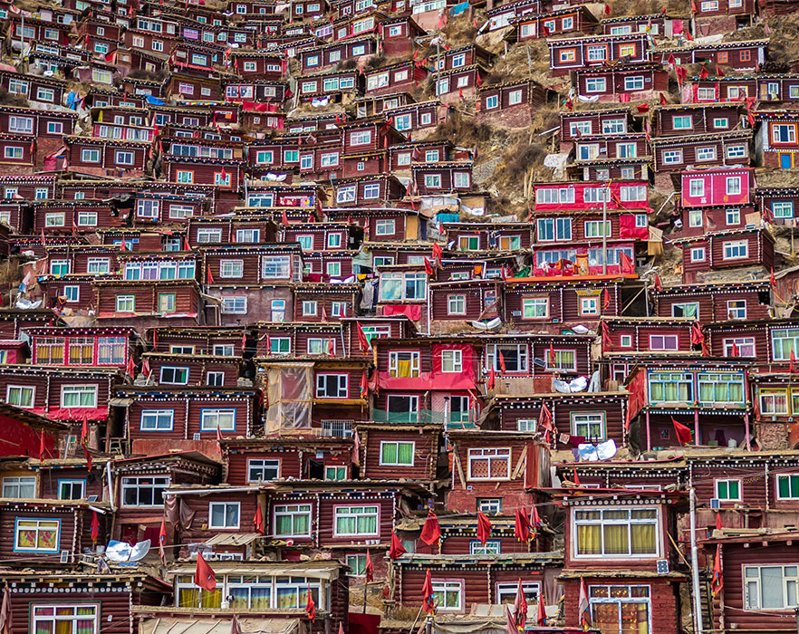 Buddhist housing, China