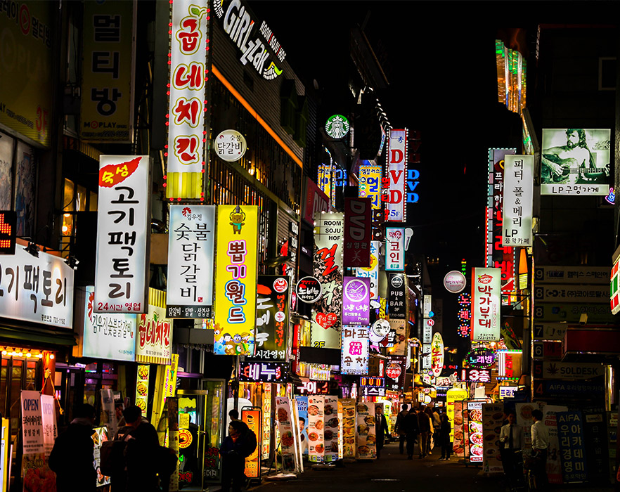 Nightlife, Seoul, South Korea