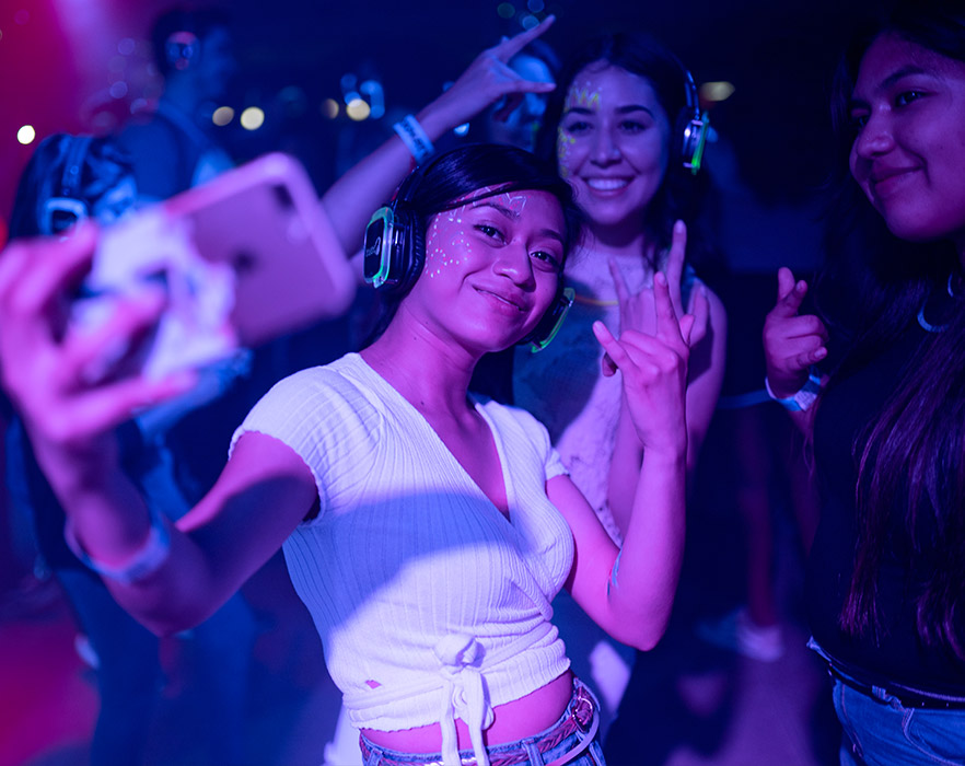 Silent disco, South Korea