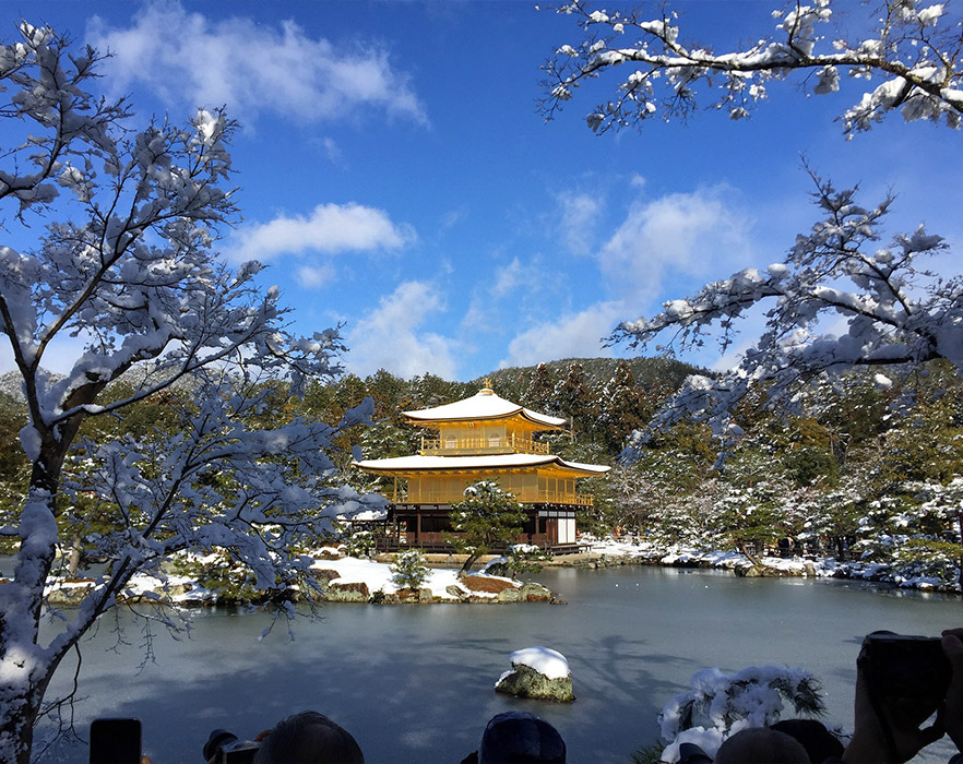 World Heritage of Seoul Tadashi in winter, South Korea