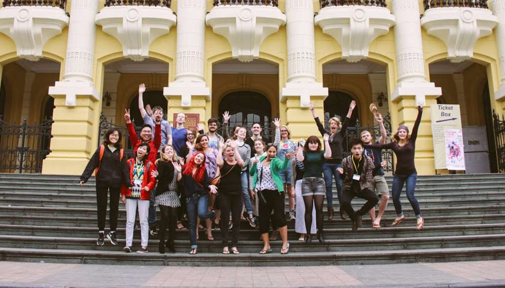 Group photo - Vietnam