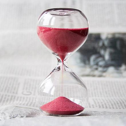 Pink hourglass
