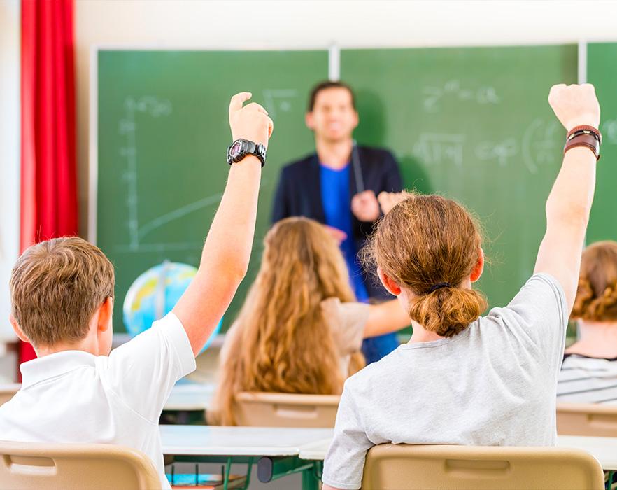 TEFL classroom, Spain
