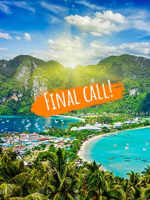 Thailand - final call