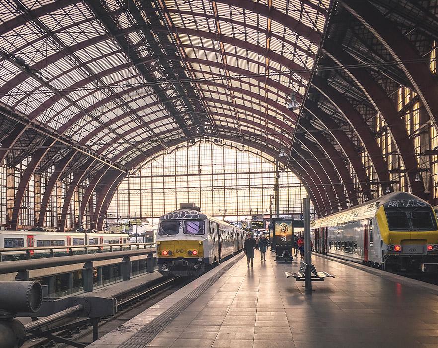 Antwerp railway station, Belgium