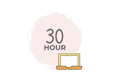 30 hour icon-online-tutor