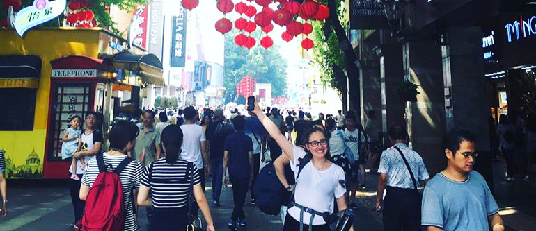 TEFL teacher Danni - China