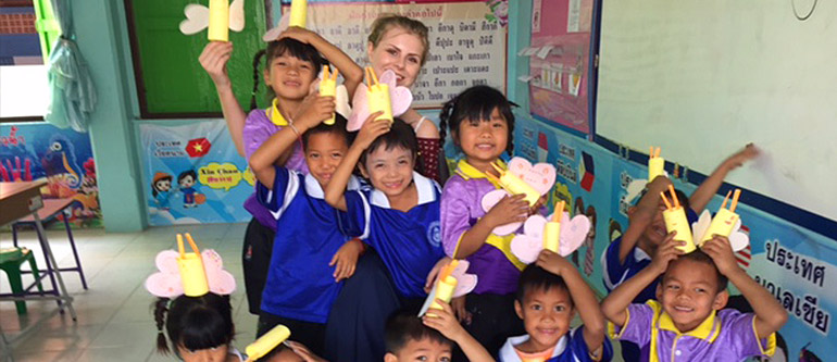 TEFL teacher Emma - Thailand