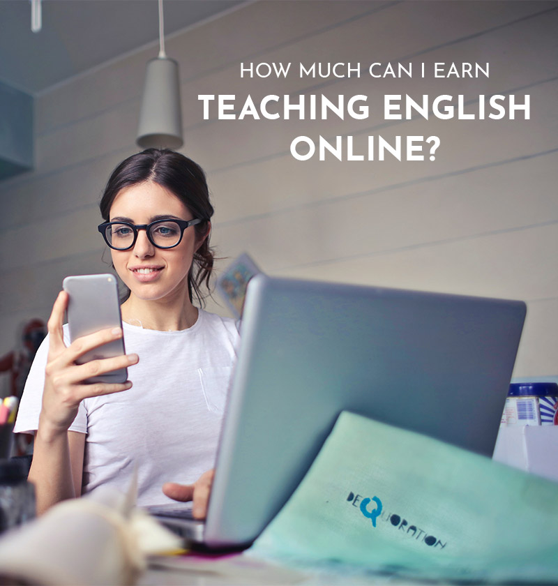 How Much Can I Earn Teaching English Online?
