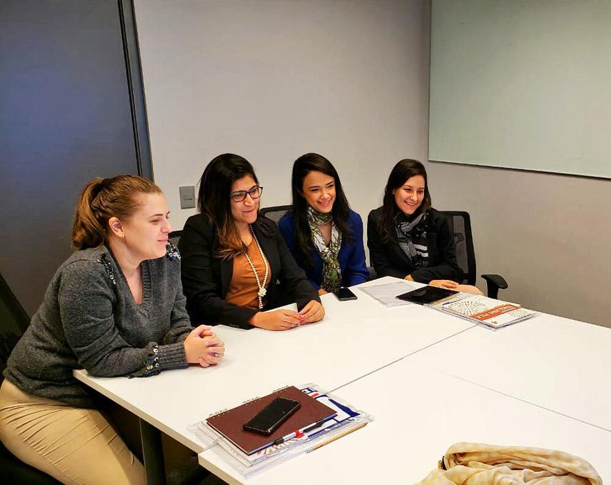 Gills classroom students