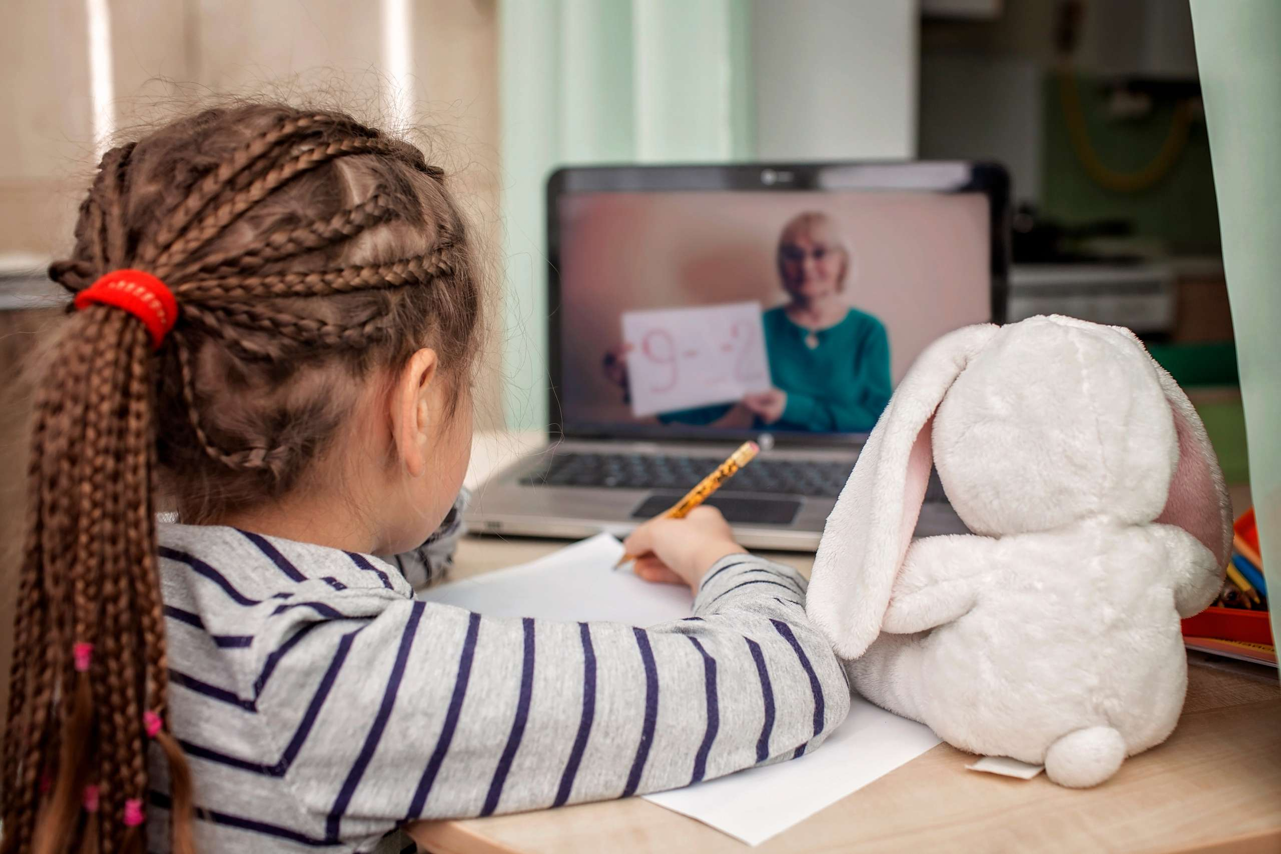 Teaching English Online to a young girl via Skype
