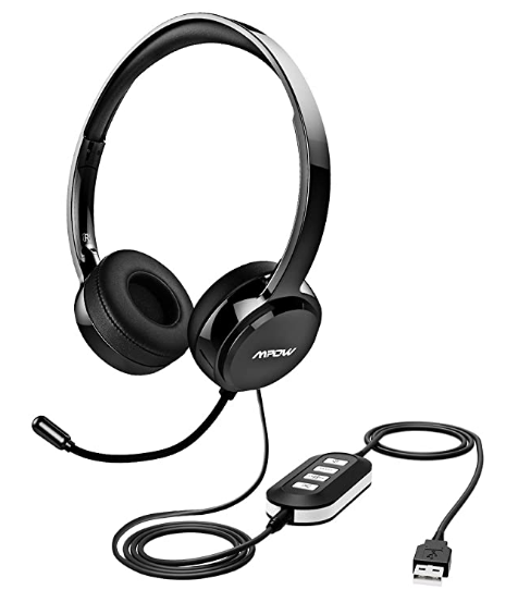 headphones with microphone for teaching english online