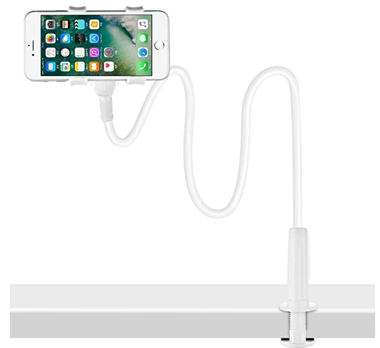 mobile phone holder for teaching english using your phone