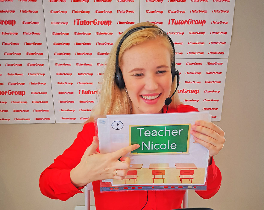 TEFL teacher, Nichole working for iTutorgroup