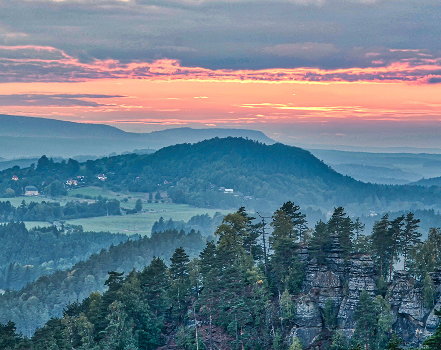 Bohemian Switzerland National Park, Czech Republic