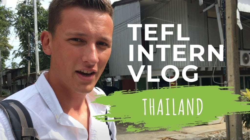 guy in thailand doing tefl video thumbnail