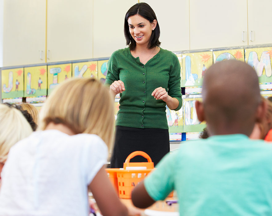 TEFL certification in a classroom