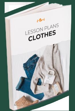 clothes lesson plan ebook mockup